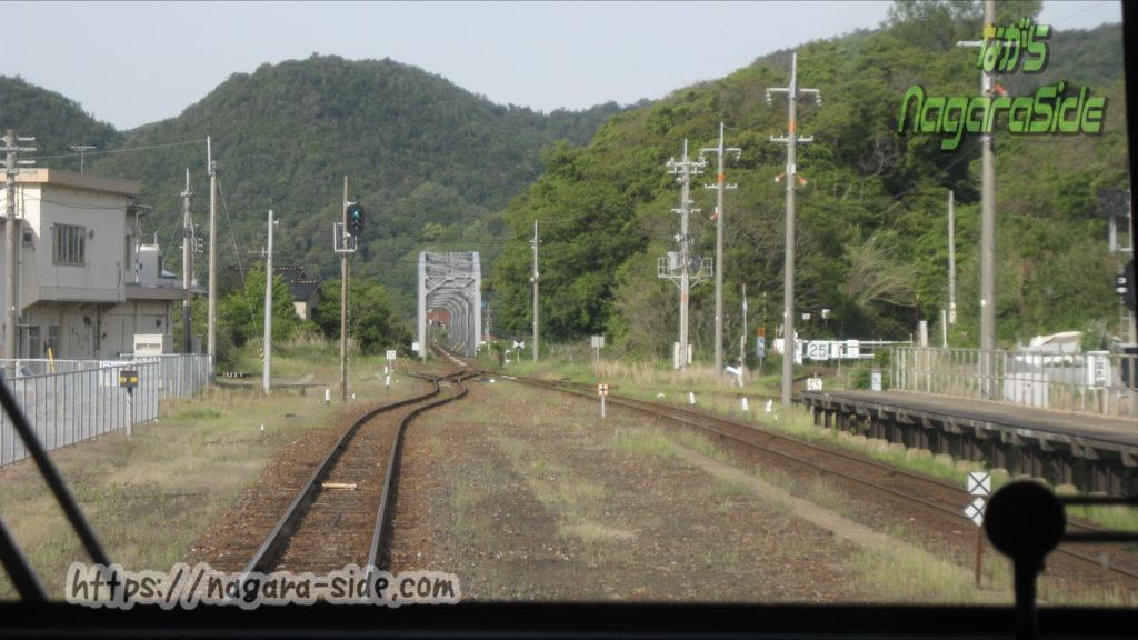 江津駅三江線分岐