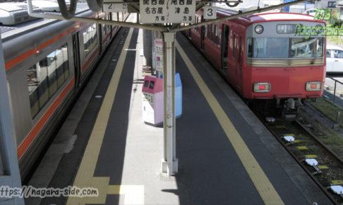 弥富駅 JR東海と名鉄