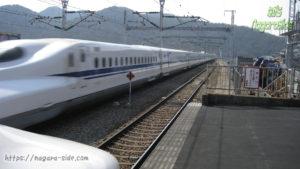 N700系新幹線 山陽 相生駅