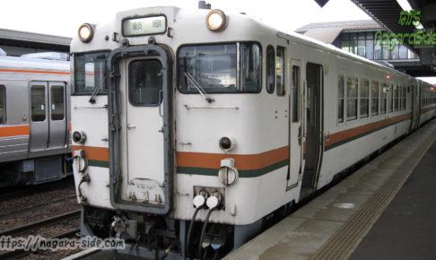 キハ40 高山線 美濃太田駅