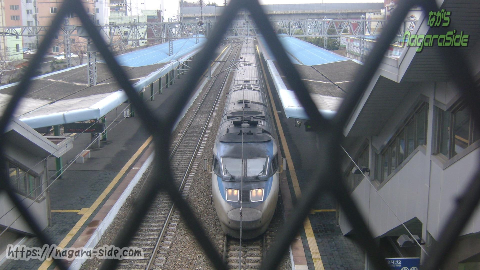 韓国鉄道 セマウル 釜山市