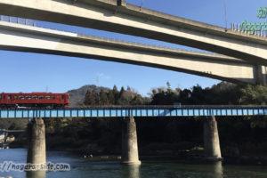 長良川鉄道 長良川第一橋梁