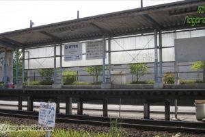 長良川鉄道関下有知駅