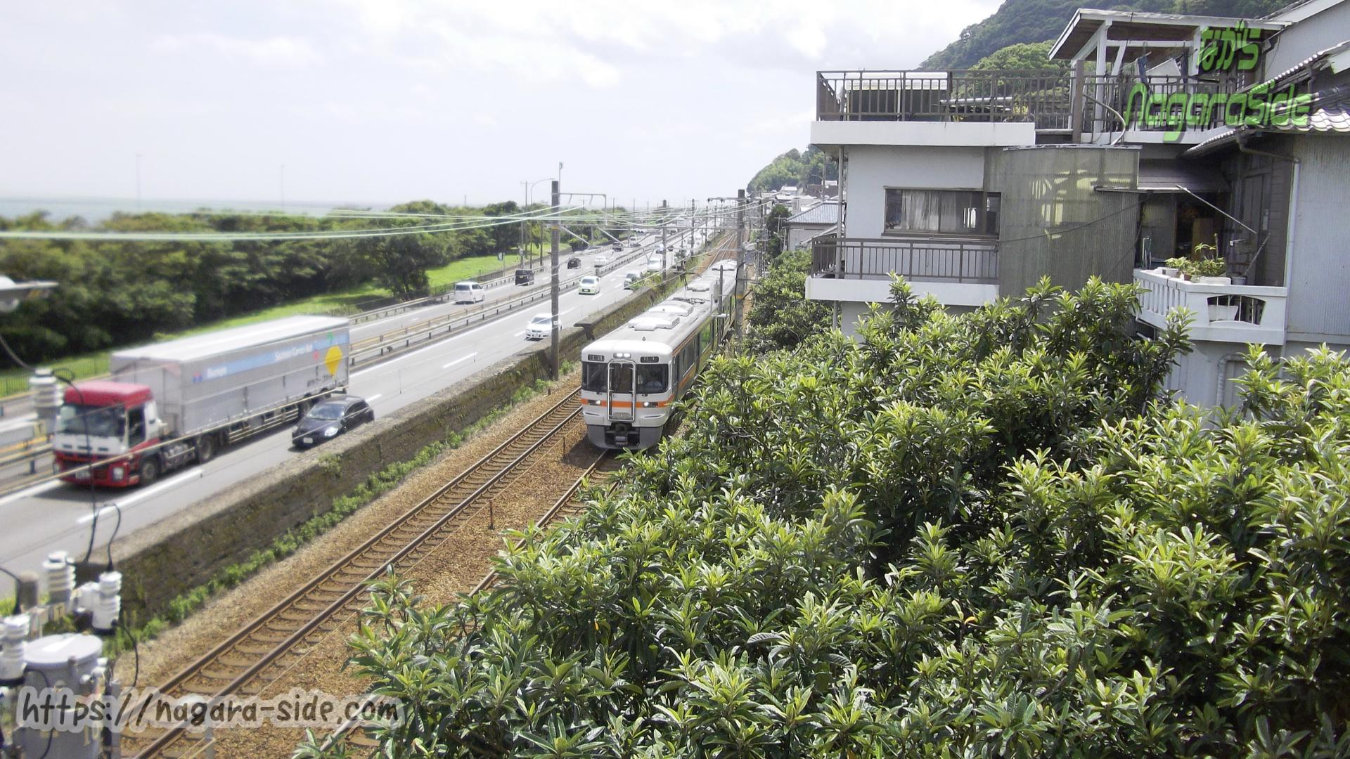 東海道線 由比