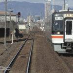 長森駅 キハ75形