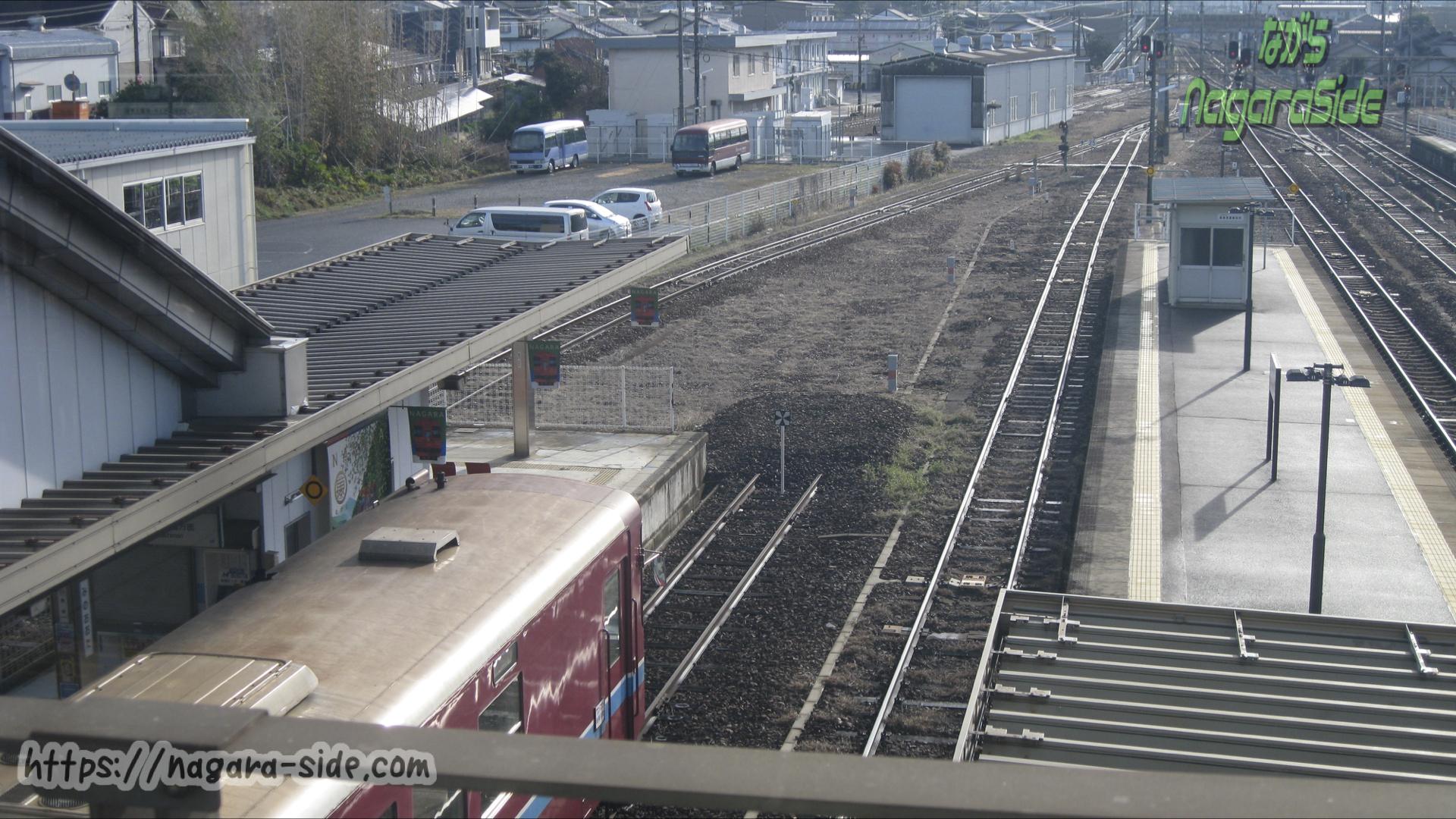 美濃太田駅 長良川鉄道