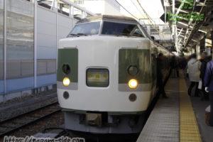 妙高号 長野駅