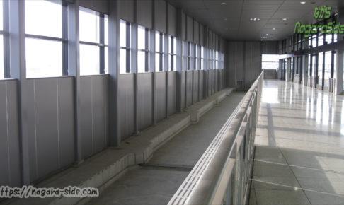 中部国際空港駅 未使用ホーム