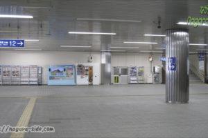 西明石駅 新幹線改札内