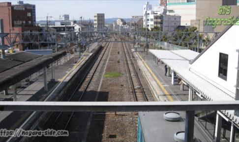 和歌山線高田駅