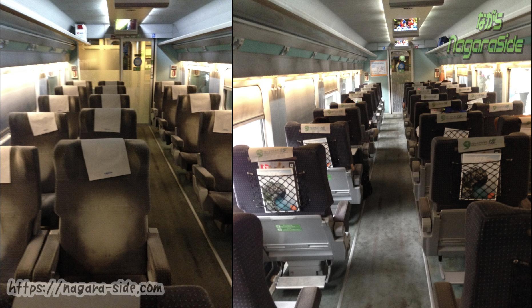 韓国高速鉄道KTXの特室車