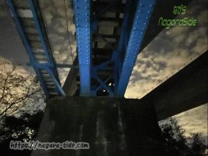 長良川第一橋梁 下