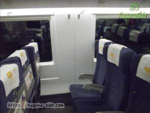 中国高速鉄道 窓のない座席