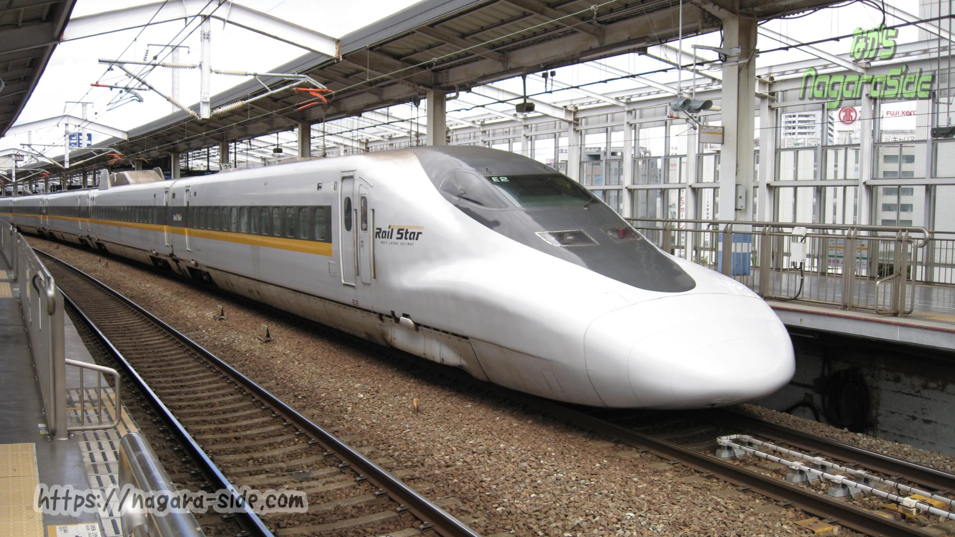 岡山駅 逆走入線するこだま