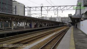 地上駅時代の富山駅