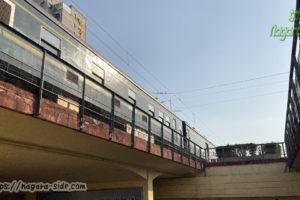 中国鉄道客車 アンダーパス通過