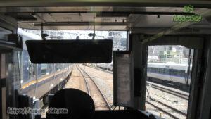 新快速 大阪駅出発前面展望