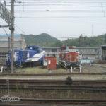 米子駅車両基地扇形車庫