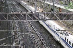 米原駅新幹線線路跨線橋