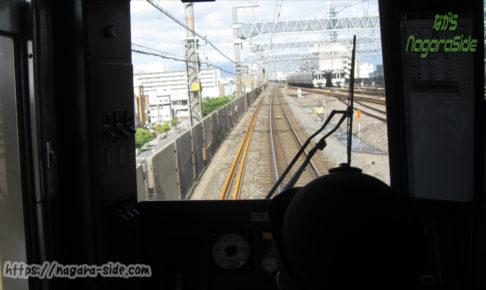 岐阜駅西側の留置線