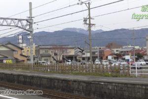 垂井駅北側の駐車場
