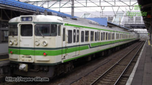 直江津駅115系電車