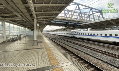 米原駅新幹線ホーム