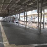 鳥羽駅JR参宮線のホームから