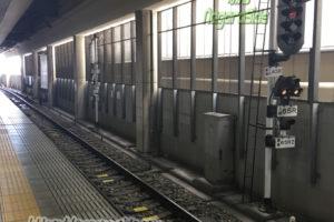 名鉄一宮駅 尾西線の場内信号