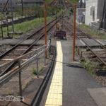 松江イングリッシュガーデン前駅の構内踏切