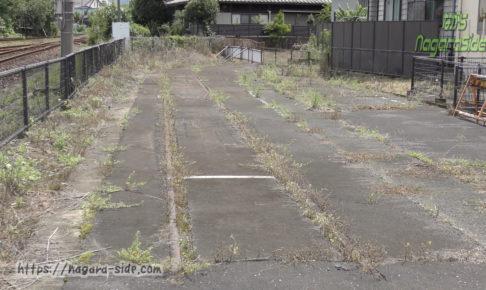 旧美濃町線関駅跡