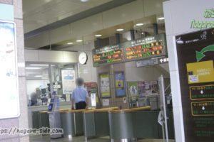 坂出駅の改札