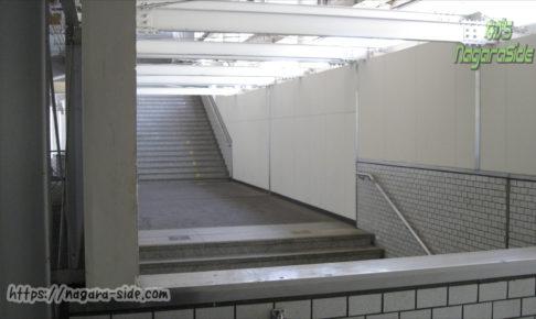福山駅の階段