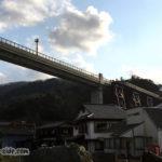 余部橋梁を北から望む