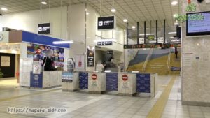 鳥取駅の改札2020
