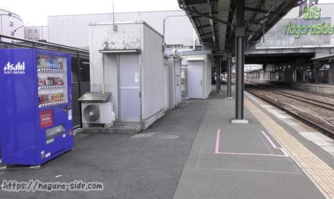 高山駅の1番ホーム