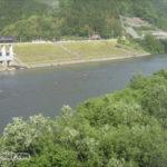 江の川沿岸を走っていた三江線