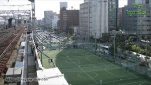 新大阪駅西の阪急新大阪連絡線予定地