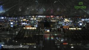 異様に暗い上海南駅