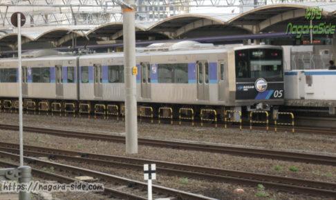 名古屋駅あおなみ線の列車