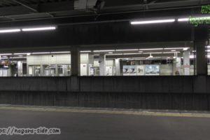 尾張一宮駅から見る名鉄一宮駅