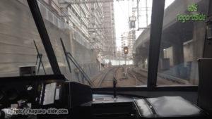 近鉄特急アーバンライナー 大阪上本町駅から地上へ