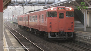 宍道駅に停まるキハ47