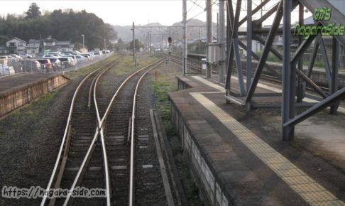 山陰本線の宍道駅から分岐する木次線