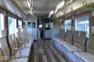 長良川鉄道ナガラ502川風車内(一般用)