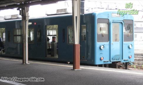 新宮駅に停車する105系