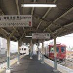 養老鉄道大垣駅の頭端式ホーム