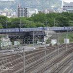 京都鉄道博物館の東を駆ける「はしだて・まいづる」