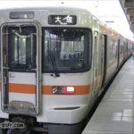 米原駅に送り込まれる普通列車
