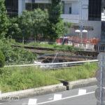 新大阪新幹線ホームから見える線路